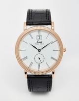 Limit Premium Strap Watch 5504 - Black