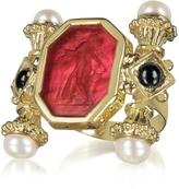 Tagliamonte Classics Collection - Pearls & Preciuos Stones 18K Gold Ring
