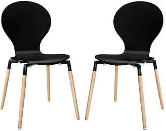 Modway Path Dining Chair Set