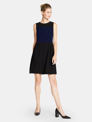 Of Mercer Ludlow Dress - Black/Navy