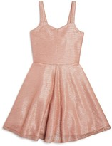Sally Miller Girls' Flared Shimmer Dress - Sizes S-XL