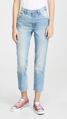 Lee Vintage Modern High Rise Dungaree Ankle Jeans