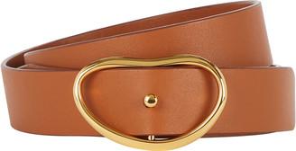 Lizzie Fortunato Georgia Wide Leather Belt