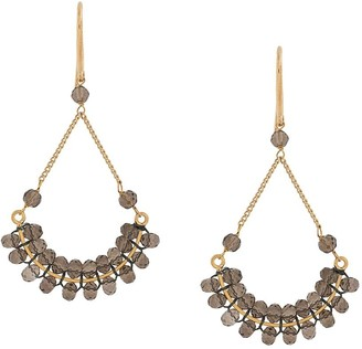 Isabel Marant Bead-Embellished Drop Earrings