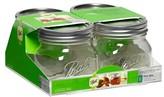 Ball 1 Pint (16 oz.) Glass Canning Jars - Set of 4
