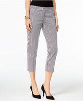 MICHAEL Michael Kors Miranda Striped Cropped Pants