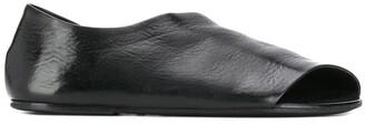 Marsèll Asymmetric Leather Sandals