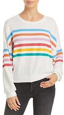 Vintage Havana Striped Hacci Sweatshirt
