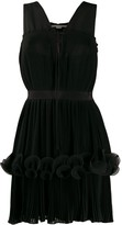 Stella McCartney ruffled-layer pleated dress