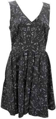 Karen Millen Blue Cotton - elasthane Dress for Women