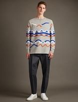 Acne Studios Grey Fun Rhythm Sweatshirt
