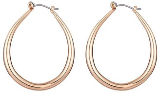 Orelia Gold Hoop Earrings