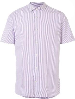 Kent & Curwen Striped Short Sleeve Shirt