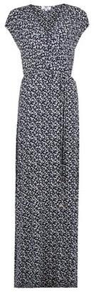 Dorothy Perkins Womens Dp Tall Navy Ditsy Print Maxi Dress