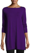 Eileen Fisher Easy Jersey Tunic with Slits
