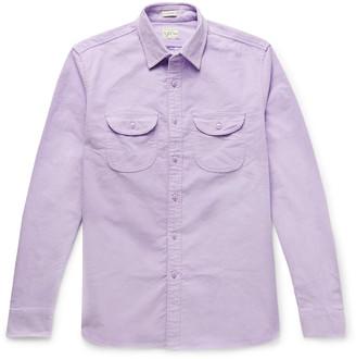J.Crew Stretch-Cotton Corduroy Overshirt