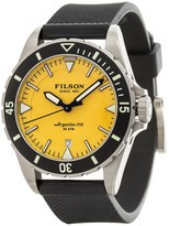 Filson Dutch Harbor Watch - 43mm, Rubber Band (For Men)