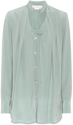 Victoria Beckham Silk crepe-de-chine blouse