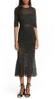 Veronica Beard Women's Linden Lace Midi Dress