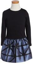 Milly Minis Girl's Jacquard Dress