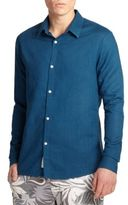 Onia Linen & Cotton Sportshirt