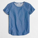 J.Crew Factory Chambray top