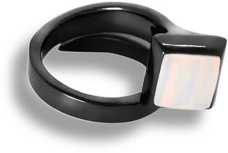 Cristina Cipolli Jewellery Amazon Ring Black & White