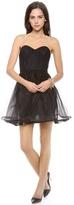 Alice + Olivia Landi Pouf Dress