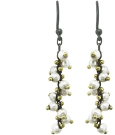 Ten Thousand Things Pearl Wrapped Chain Drop Earrings