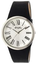 Simplify The 2000 Collection 2001 Men's Watch