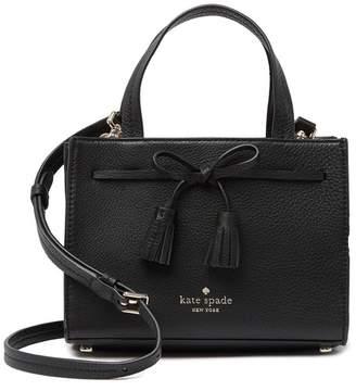 Kate Spade Hayes Leather Mini Satchel
