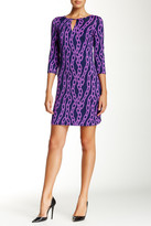 Julie Brown Kole Keyhole Shift Dress