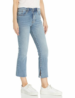 Ella Moss Women's Misses High Waist Crop Flare Jean