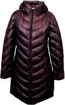 Calvin Klein Lightweight Packable Down Quilted Puffer Coat (, Plum)