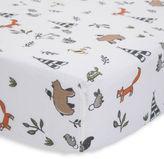Little unicorn Forest friends muslin cotton crib sheet