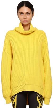 Givenchy Oversize Wool Rib Knit Sweater