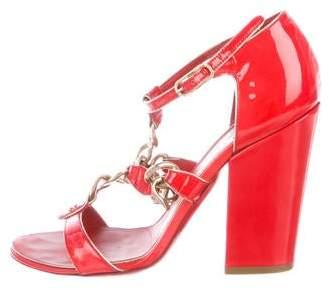 Chanel CC Chain-Link Sandals