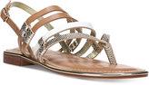Carlos by Carlos Santana Diego Strappy Flat Sandals