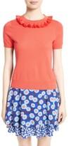 Kate Spade Women's Tassel Neck Silk Blend Sweater