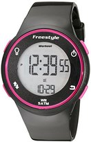 Freestyle Unisex 101377 Cadence Round Fitness Workout Pink Watch