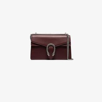 Gucci red Dionysus chain strap shoulder bag
