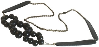 Polder Black Wood Necklaces