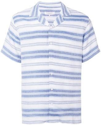 Orlebar Brown striped casual shirt