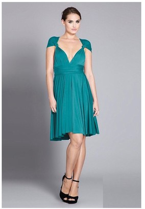In One Clothing Multiway Knee Length Dress