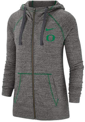 Nike Women Oregon Ducks Gym Vintage Full-Zip Jacket