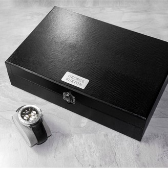 Personalised Watch & Cufflink Box