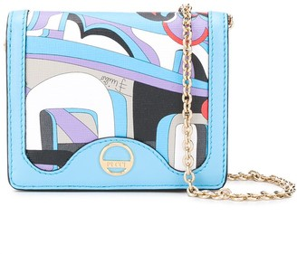 Emilio Pucci x Koche Elleboro print chain wallet