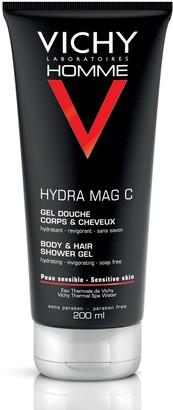 Vichy Homme Hydra Mag-C Body & Hair Shower Gel 200Ml