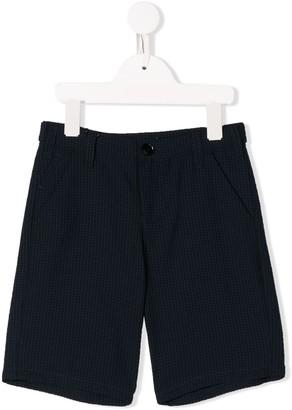 Emporio Armani Kids gingham shorts