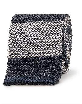 Eton Horizontal Block Knit